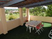 Picture of the private terrace of TAMARIS room